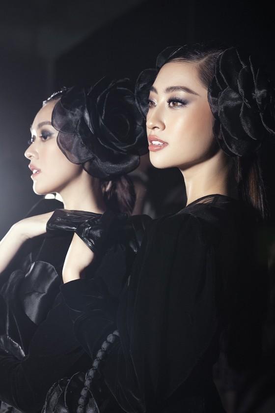 Khánh Vân, Lan Khuê, Lương Thuỳ Linh, Tường San khai mạc Vietnam Runway Fashion Week 2020 ảnh 9
