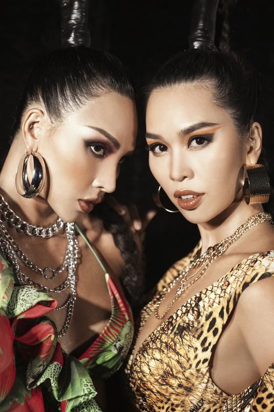 Khánh Vân, Lan Khuê, Lương Thuỳ Linh, Tường San khai mạc Vietnam Runway Fashion Week 2020 ảnh 11