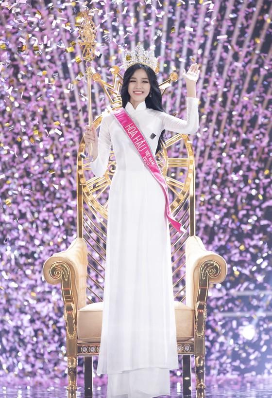 Cận cảnh nhan sắc tân Hoa hậu Đỗ Thị Hà  ảnh 2