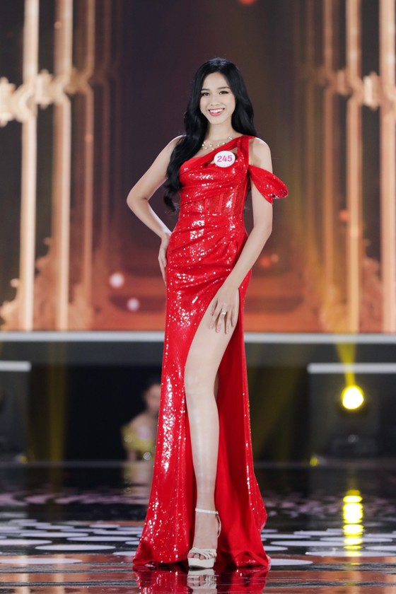 Cận cảnh nhan sắc tân Hoa hậu Đỗ Thị Hà  ảnh 3