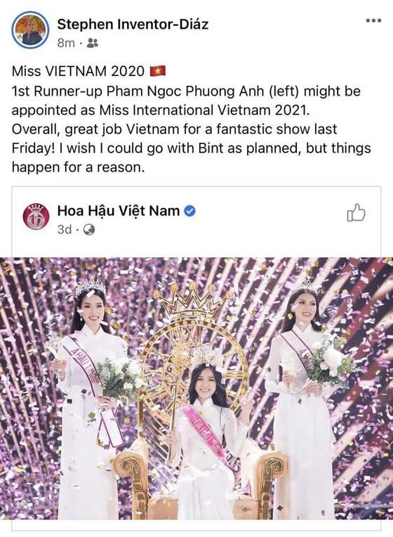Tân Á hậu 1 Hoa hậu Việt Nam 2020 Phương Anh được kỳ vọng sẽ chinh chiến Miss International ảnh 3