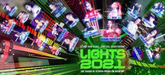Dàn sao đình đám hội tụ tại lễ hội Countdown Lights 2021 ở phố đi bộ ảnh 1