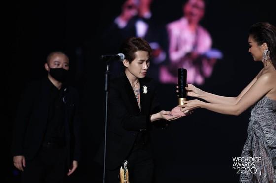Thủy Tiên, Jack, MCK, Dế Choắt, Binz… được vinh danh tại WeChoice Awards 2020 ảnh 4
