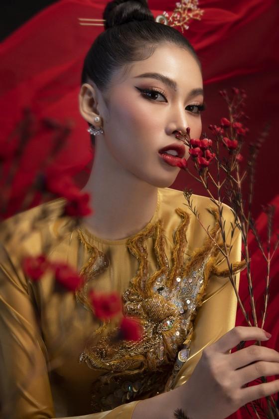 Hé lộ bản phác thảo trang phục dân tộc Á hậu Ngọc Thảo đem đến Miss Grand International 2020 ảnh 3
