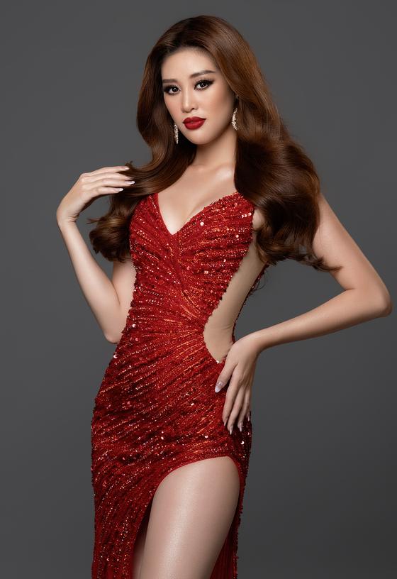 Hoa hậu Khánh Vân sẵn sàng cho Miss Universe 2020 ảnh 1