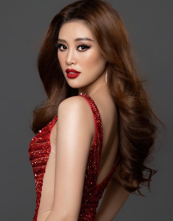 Hoa hậu Khánh Vân sẵn sàng cho Miss Universe 2020 ảnh 2