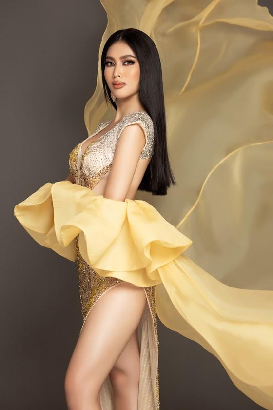 Á hậu Ngọc Thảo trình diễn quốc phục ấn tượng trên sân khấu Miss Grand International 2020 ảnh 7