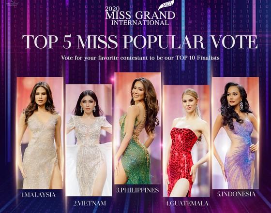 Người đẹp Mỹ đăng quang Miss Grand International 2020, Ngọc Thảo vào Top 20 ảnh 12