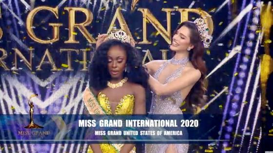 Người đẹp Mỹ đăng quang Miss Grand International 2020, Ngọc Thảo vào Top 20 ảnh 9
