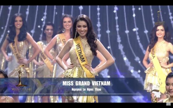 Người đẹp Mỹ đăng quang Miss Grand International 2020, Ngọc Thảo vào Top 20 ảnh 18