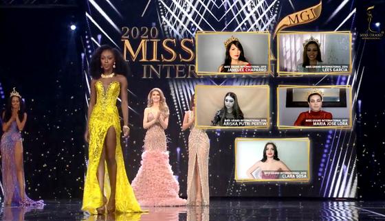 Người đẹp Mỹ đăng quang Miss Grand International 2020, Ngọc Thảo vào Top 20 ảnh 8
