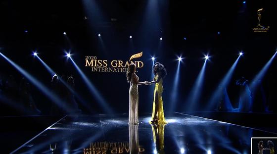 Người đẹp Mỹ đăng quang Miss Grand International 2020, Ngọc Thảo vào Top 20 ảnh 7