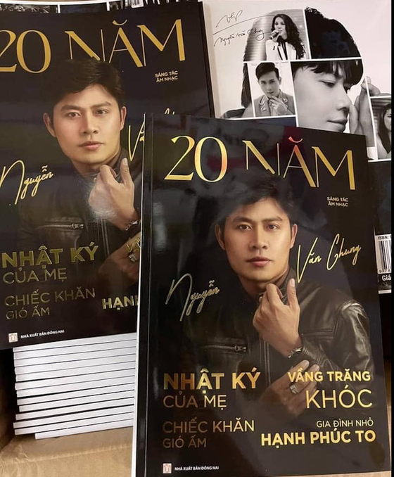 Nhạc sĩ Nguyễn Văn Chung ra mắt sách nhạc kỷ niệm 20 năm sáng tác ảnh 1
