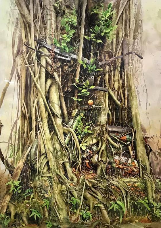 Côn Đảo thiêng liêng, sống động trong tranh màu nước  ảnh 13