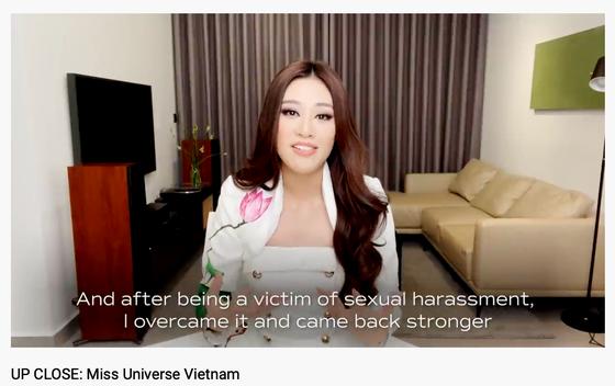 Miss Universe công bố video giới thiệu Hoa hậu Khánh Vân trên trang chủ ảnh 1