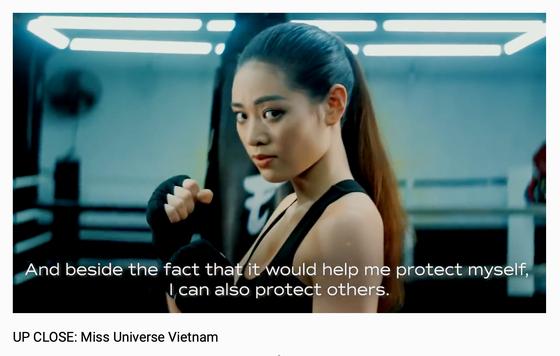 Miss Universe công bố video giới thiệu Hoa hậu Khánh Vân trên trang chủ ảnh 2