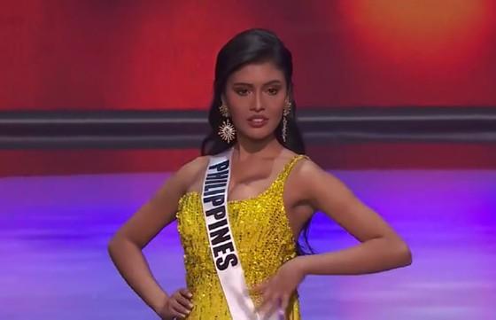 Cận cảnh trang phục dạ hội của Hoa hậu Khánh Vân tại bán kết Miss Universe ảnh 8