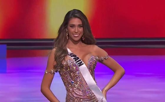 Cận cảnh trang phục dạ hội của Hoa hậu Khánh Vân tại bán kết Miss Universe ảnh 9