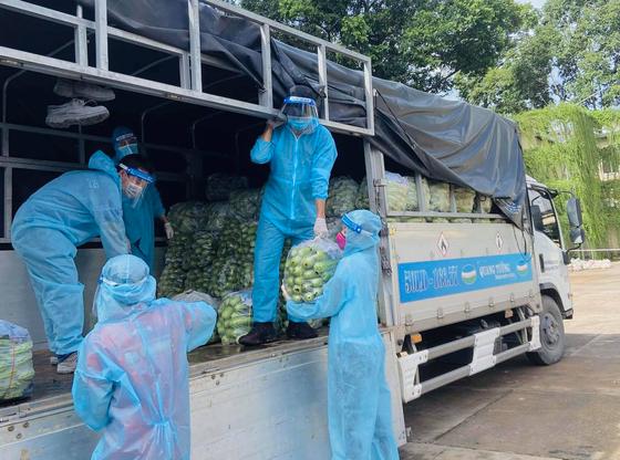 Hoa Hậu Hoàn Vũ Việt Nam hỗ trợ người dân với 'Chuyến xe thực phẩm 0 đồng'  ảnh 1