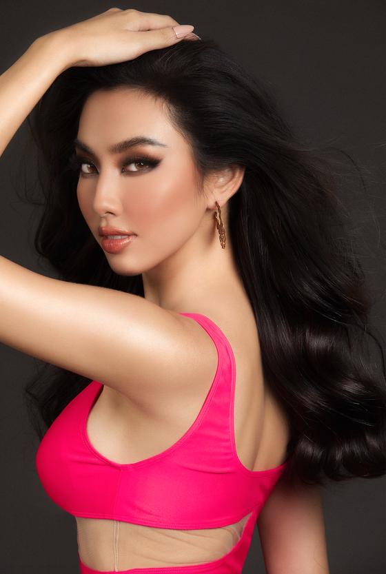 Nguyễn Thúc Thuỳ Tiên đại diện Việt Nam dự thi Miss Grand International 2021 ảnh 6
