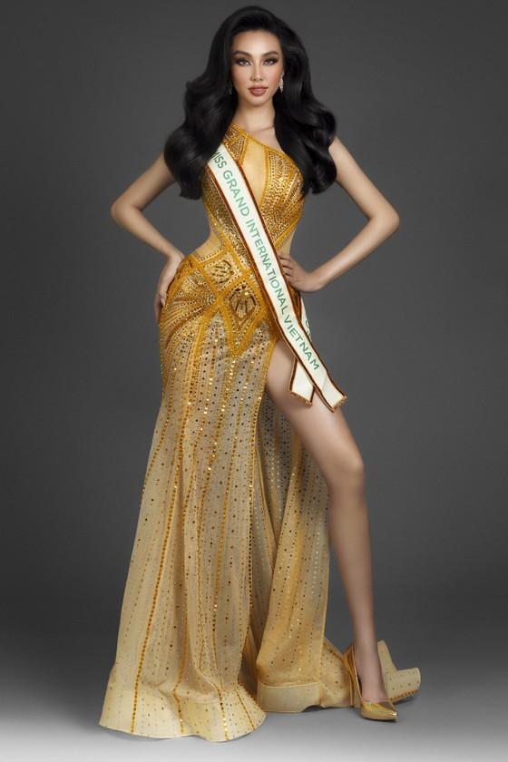 Nguyễn Thúc Thuỳ Tiên đại diện Việt Nam dự thi Miss Grand International 2021 ảnh 3