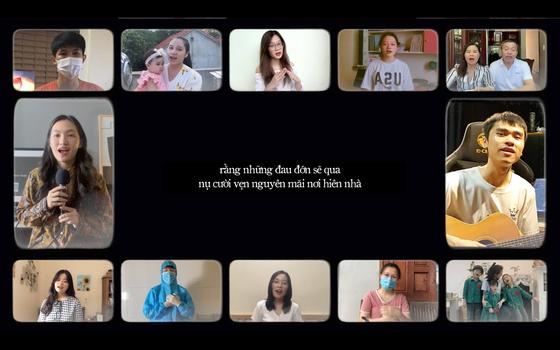 """Nguyên Hà và dàn đồng ca y bác sĩ, tình nguyện viên hát """"Đã bao lâu"""" ảnh 2"""