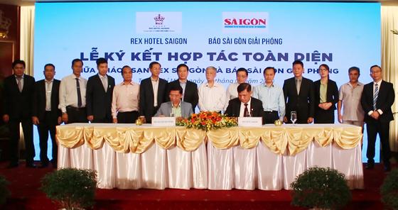 Báo SGGP và khách sạn Rex Sài Gòn đẩy mạnh hợp tác toàn diện ảnh 1