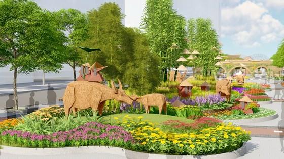 Hơn 130 loài hoa sẽ phục vụ thưởng lãm tại đường hoa Nguyễn Huệ ảnh 1