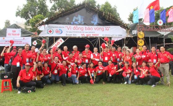 Khai mạc Hội trại Tình nguyện viên, thanh niên Chữ thập đỏ toàn quốc ảnh 3