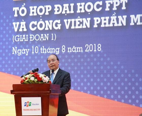 Thủ tướng Nguyễn Xuân Phúc dự khánh thành Tổ hợp Đại học FPT Cần Thơ ảnh 3