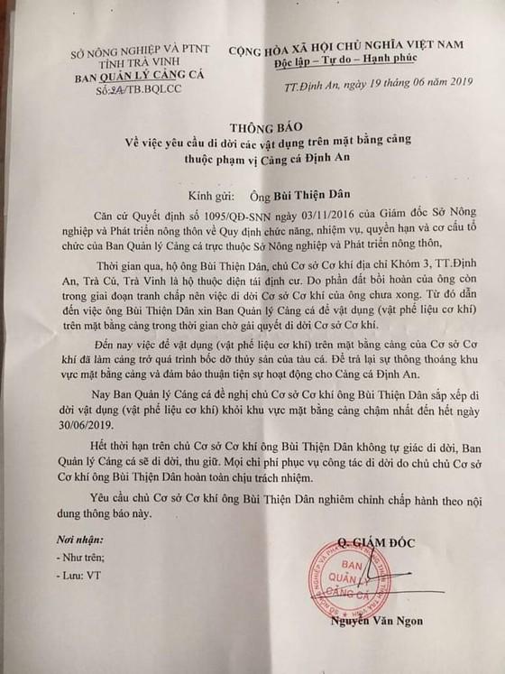 Tại sao chậm thi hành án vụ chiếm đất 11 năm ở Trà Vinh?  ảnh 3