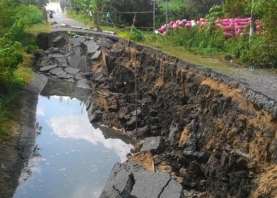 Bán đảo Cà Mau có tốc độ sụt lún cao nhất ảnh 1
