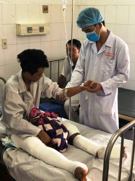 Phẫu thuật thành công bệnh nhân bị đa chấn thương hy hữu ảnh 1