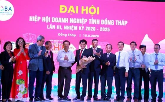 Ông Hồ Chí Dũng được bầu làm Chủ tịch Hiệp hội Doanh nghiệp tỉnh Đồng Tháp  ảnh 1
