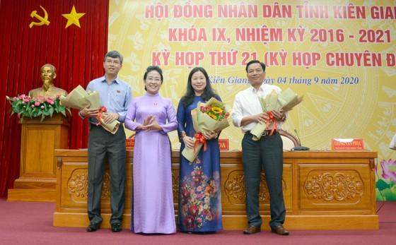 Bà Lê Hồng Thắm giữ chức Phó Chủ tịch HĐND tỉnh Kiên Giang ảnh 1
