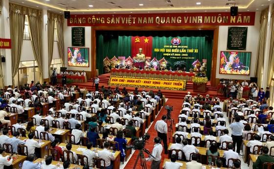 Trưởng Ban Tuyên giáo Trung ương Võ Văn Thưởng chỉ đạo Đại hội Đảng bộ tỉnh An Giang ảnh 1