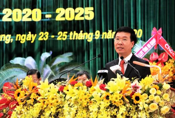 Trưởng Ban Tuyên giáo Trung ương Võ Văn Thưởng chỉ đạo Đại hội Đảng bộ tỉnh An Giang ảnh 3
