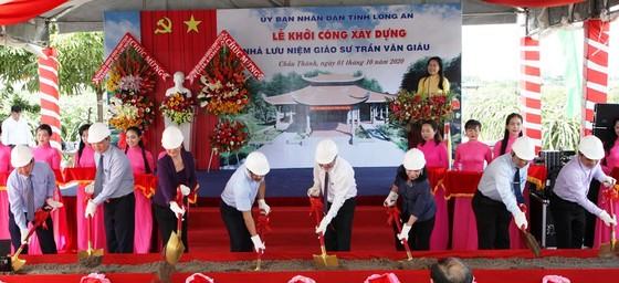 Long An xây dựng Nhà lưu niệm Giáo sư Trần Văn Giàu ảnh 1