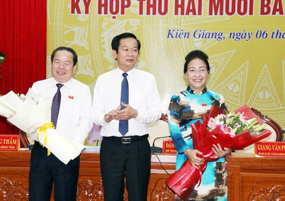 Bầu ông Lâm Minh Thành giữ chức Chủ tịch UBND tỉnh Kiên Giang ảnh 1