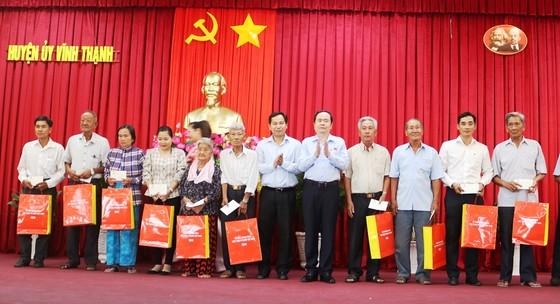 Đồng chí Trần Thanh Mẫn tiếp xúc cử tri TP Cần Thơ  ảnh 3