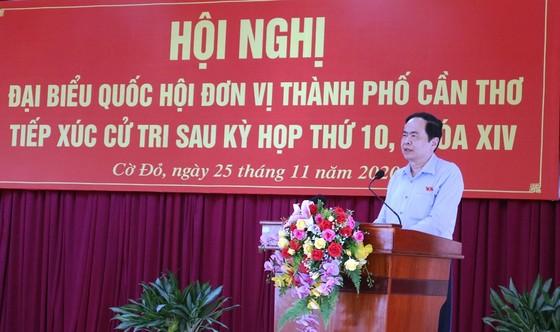 Đồng chí Trần Thanh Mẫn tiếp xúc cử tri TP Cần Thơ  ảnh 2