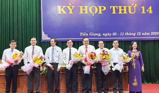 Ông Nguyễn Văn Vĩnh được bầu giữ chức Chủ tịch UBND tỉnh Tiền Giang ảnh 1