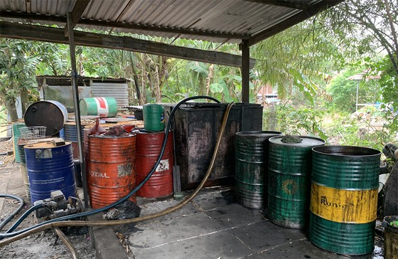 Phát hiện số lượng lớn chất thải nguy hại tại một cơ sở tái chế ở An Giang ảnh 2
