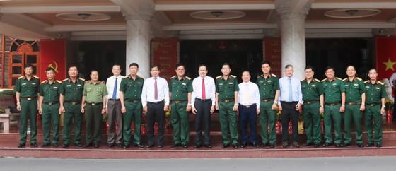 Đồng chí Trần Thanh Mẫn thăm và chúc tết Quân khu 9 ảnh 1