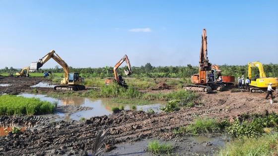 Bộ GTVT thăm công trình cao tốc Mỹ Thuận – Cần Thơ và cầu Mỹ Thuận 2 ảnh 2
