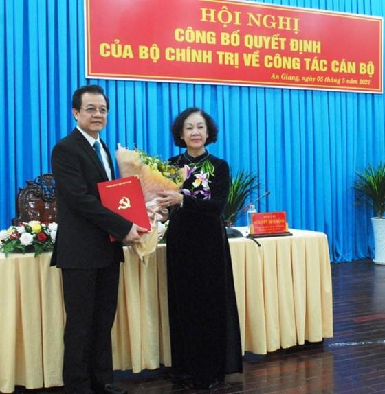 Đồng chí Lê Hồng Quang giữ chức Bí thư Tỉnh ủy An Giang ảnh 1