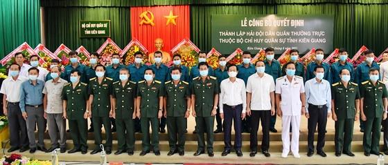 Kiên Giang thành lập Hải đội Dân quân thường trực  ảnh 1