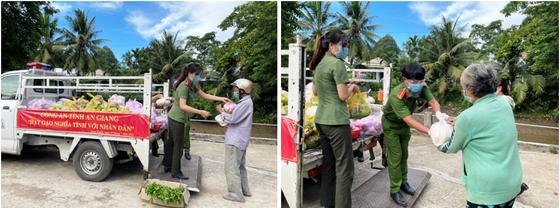 Công an tỉnh An Giang tặng 110 tấn gạo cho người nghèo khó ảnh 3