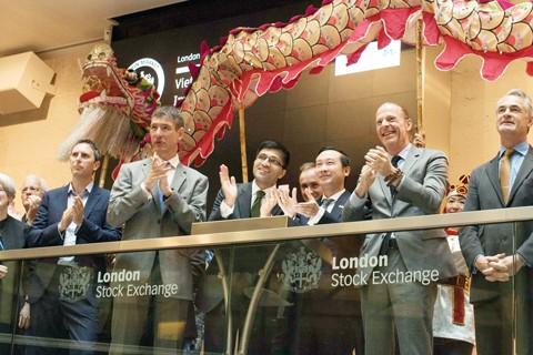 Quỹ đầu tư của Dragon Capital niêm yết tại London ảnh 1