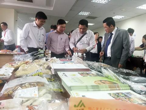 100 DN trao đổi kinh doanh thực phẩm Nhật ảnh 1